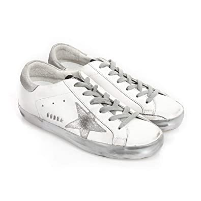 d9f2338ab5af7 Golden Goose Deluxe Brand Superstar Sparkle Women Sneakers GCOWS590.E36 Size  35 (5 US