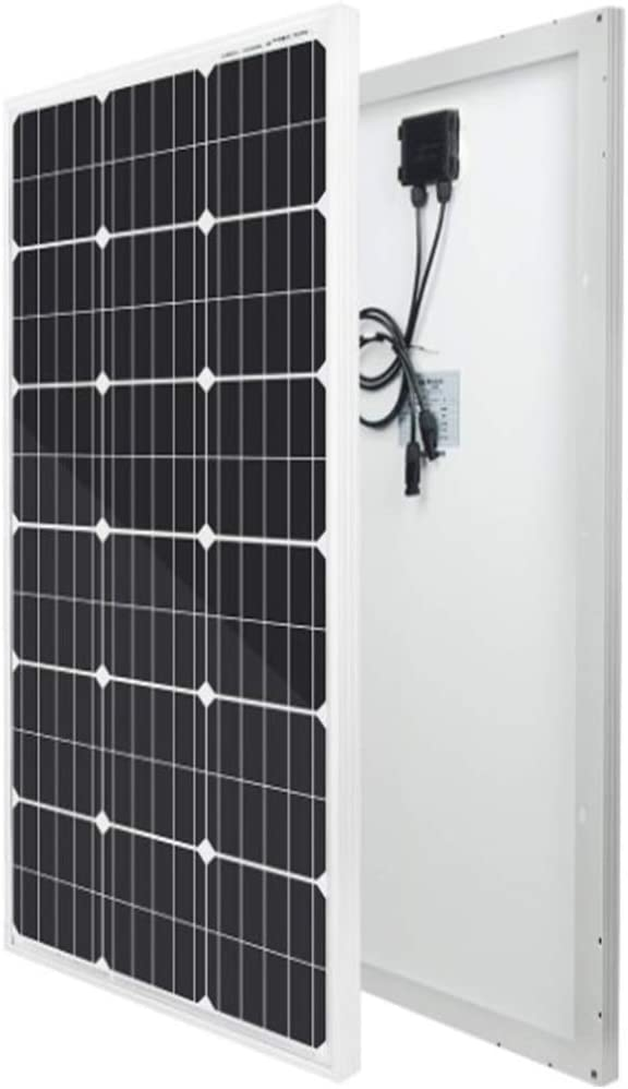 RV Lighting 20A Charge Controller for Off-Grid 12 Volt Battery System ECO-WORTHY 12 Volt 100 Watt Monocrystalline Panels System Boat