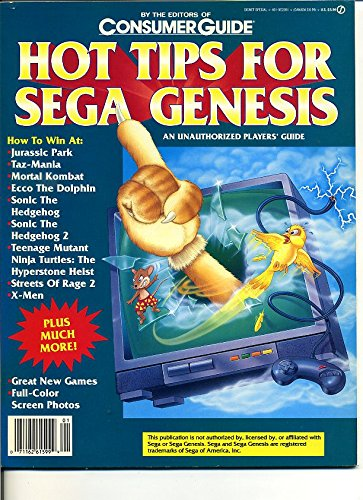 Hot Tips for Sega Genesis: An Unauthorized Players Guide ...