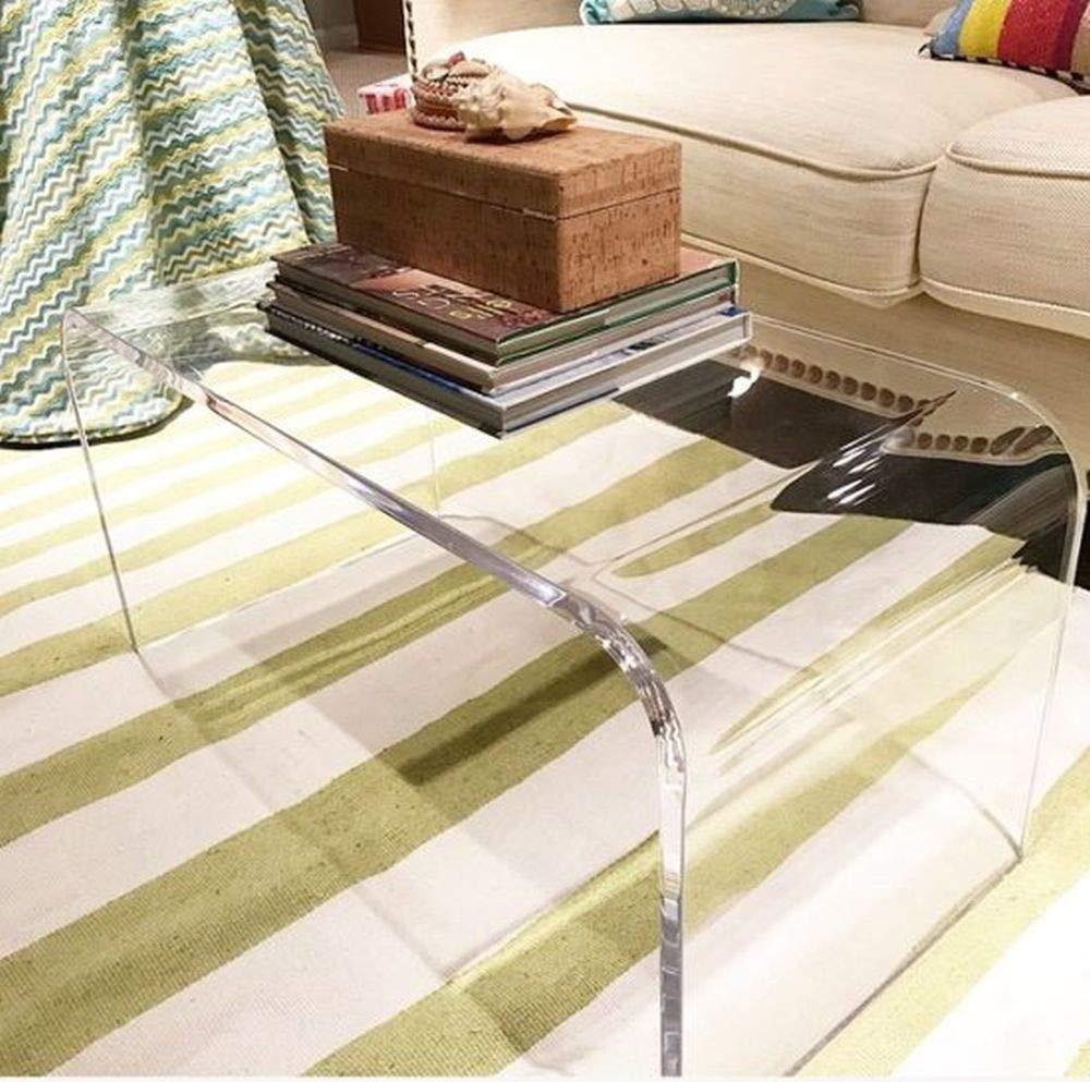 southeastflorida Acrylic Coffee Table 32 x 16 x 16 x 3 4 premium domestic material