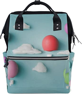 Diaper Baby Bag Large Tote Travel Nappy Bag with Changing Pad /& Calico Bag