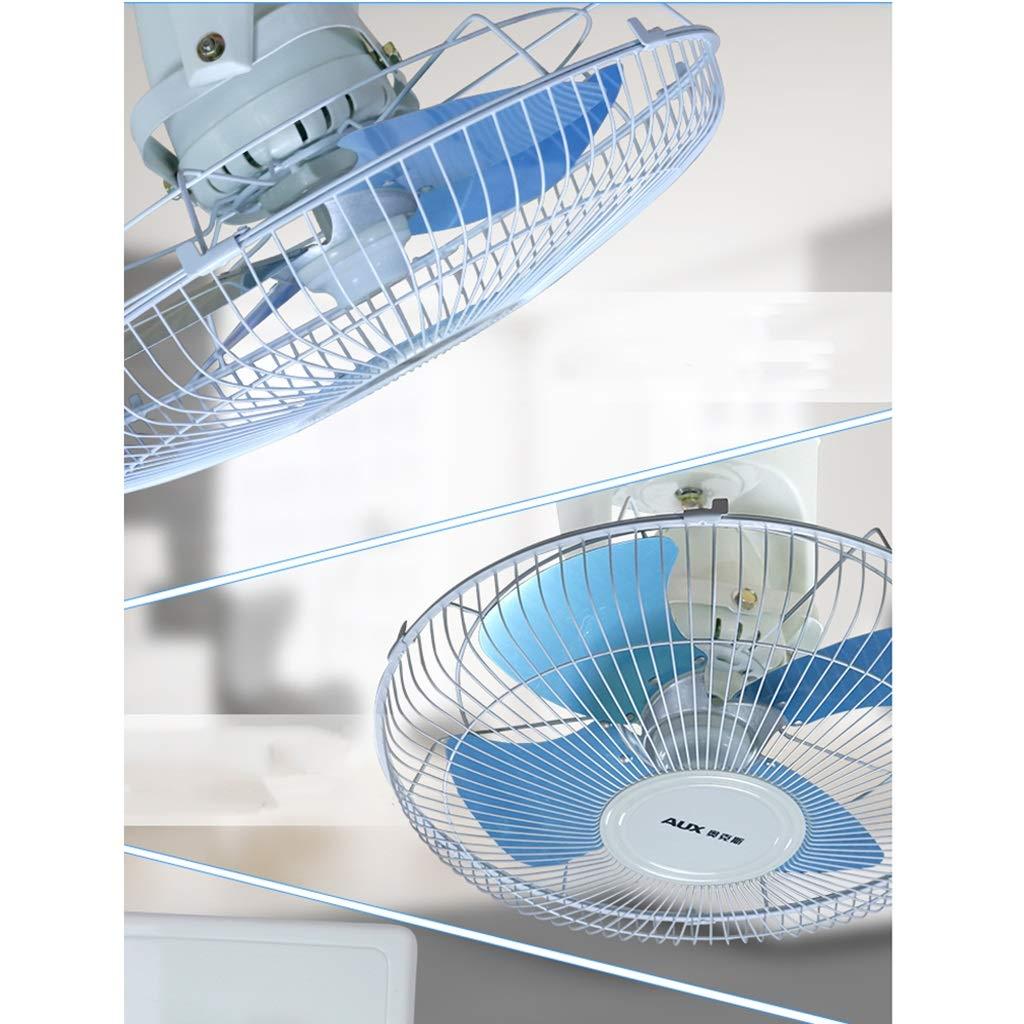 Beweglicher Hauptventilator Ger/äuscharm Elektrischer Ventilator 60W-Deckenventilator 3-D/ächer Elektrischer L/üfter Mit 16-Zoll-Technik