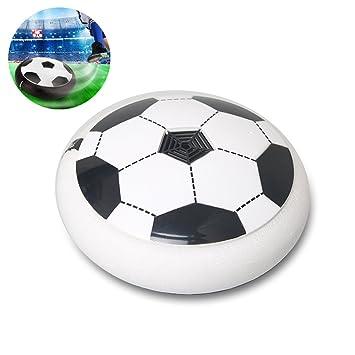 Indoor Air Power Led Disc Soccer Hover Football Luftkissen Fussball Leuchten NEU