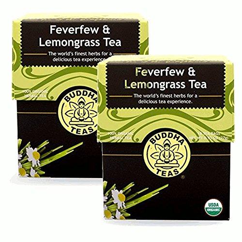Feverfew Lemongrass Tea Organic Herbs