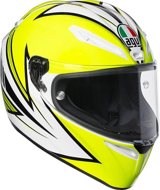 Soleluna Gelb Gr/ö/ße MS AGV Motorradhelm Veloce S E2205 Top PLK
