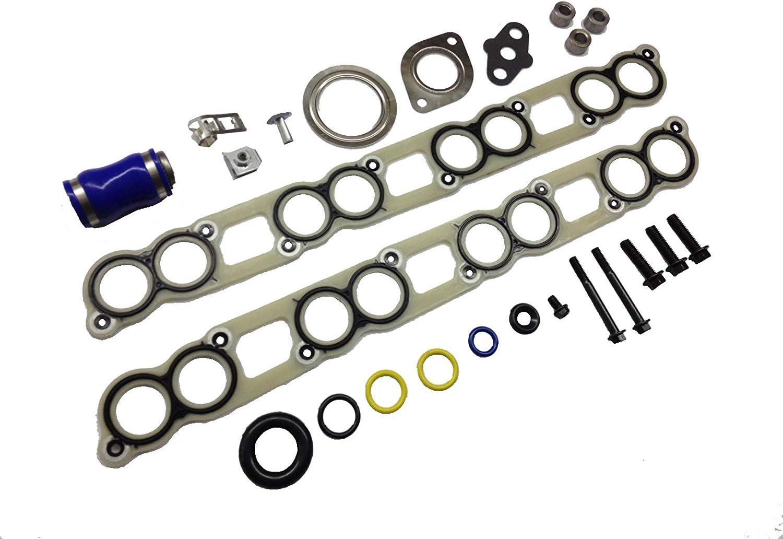 EGR Cooler/&Intake Manifold Gasket Kit For Ford 6.0L PowerStroke Diesel 2003-2007