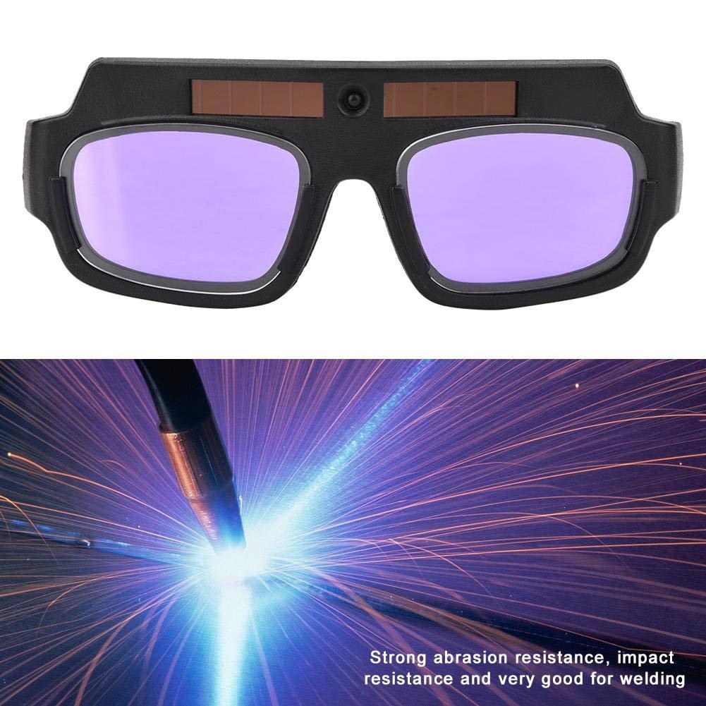 FTVOGUE Gafas Para Soldar Protecci/ón Contra El Oscurecimiento Autom/ático Solar Gafas Protectoras Para La Soldadura Al Arco de Arg/ón Con Pantalla de Atenuaci/ón Autom/ática