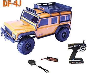Unbekannt Crawler DF de 4J, 4 WD Brushed, 1: 10 XXL, RTR DF de 4J Crawler XXL – RTR DF de Models 3014