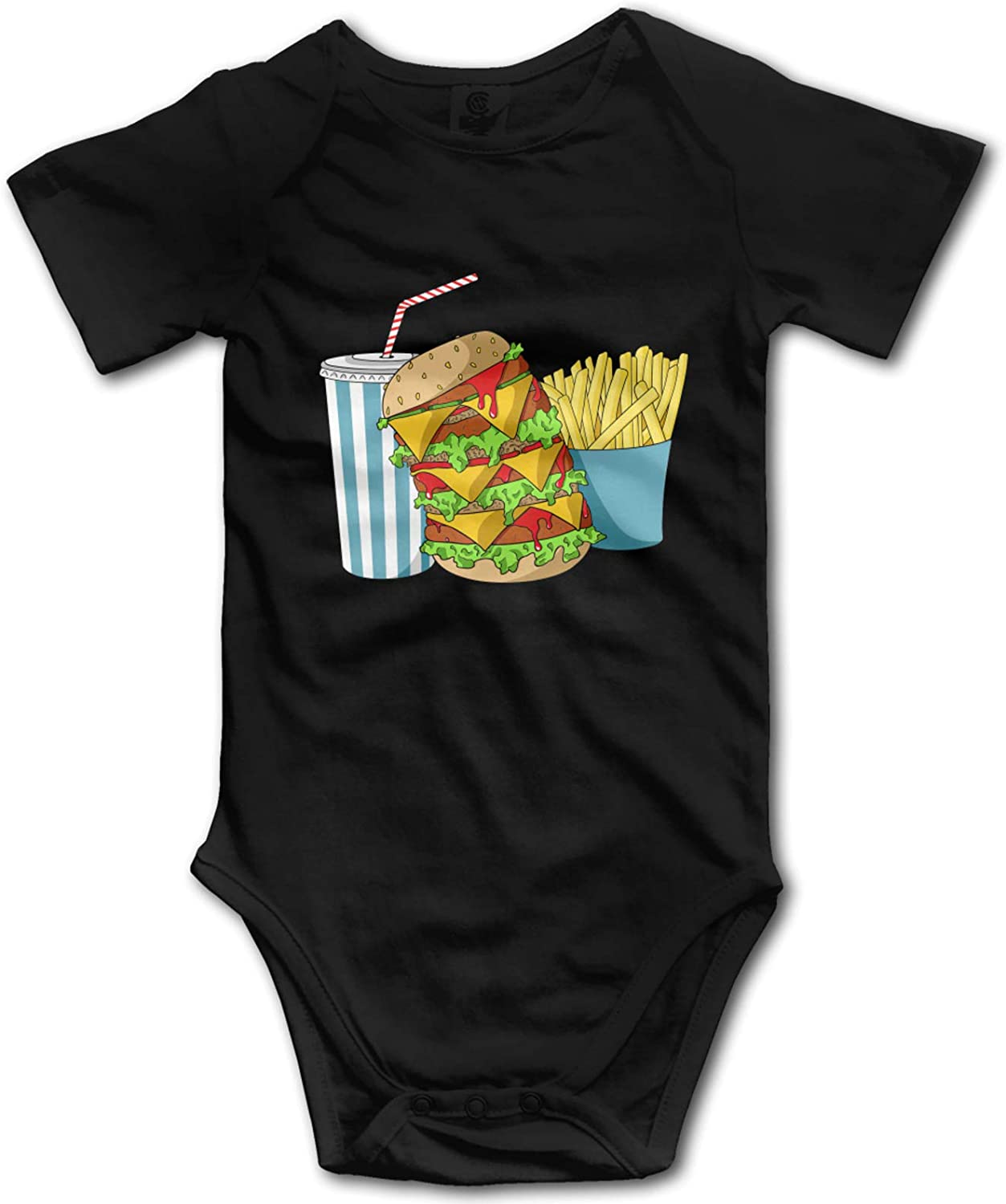 Junk Food and A Diet Coke Baby Boy Girl Clothes Summer Outfits Cotton Onesies Bodysuit