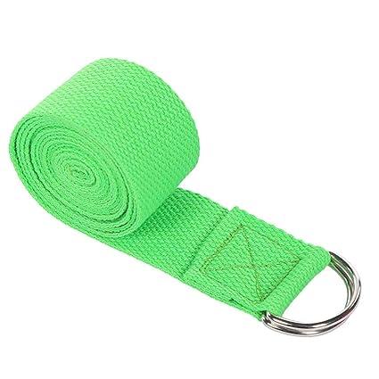 Amazon.com: Glumes Yoga Strap - Durable Cotton Exercise ...
