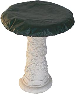 Bosmere Waterproof Bird Bath Cover for 18' to 21' Diameter Bowl, Green