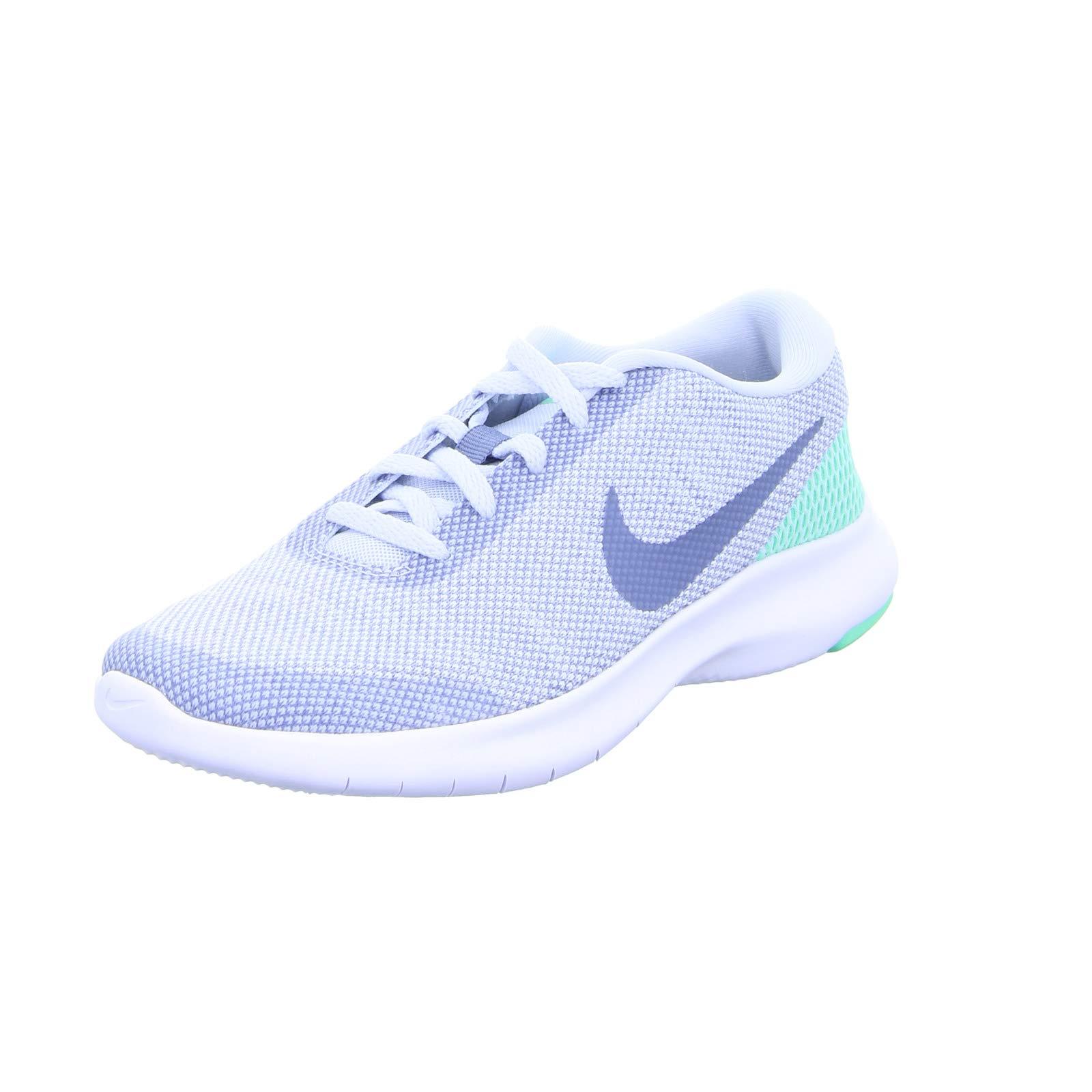 aa1267fd88c5 Galleon - Nike Women s Flex Experience RN 7 Running Shoe Football  Grey Ashen Slate Green Glow Size 8 M US