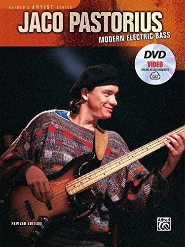 Jaco Pastorius Sheet Music - Jaco Pastorius -- Modern Electric Bass: Book, DVD & Online Video (Alfred's Artist Series)
