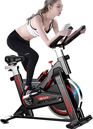 NgMik Ultra silencioso Inicio Bicicleta estática Cubierta de Bicicleta de Ejercicios Que Adelgaza el Equipo de Fitness (Color : Black, Size : 105x50x102cm): Amazon.es: Hogar