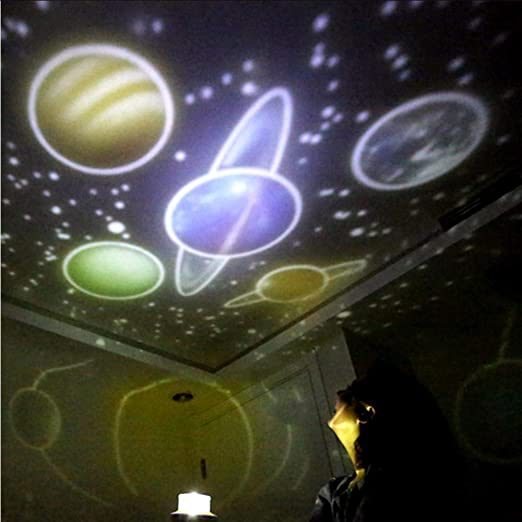 Xzfddn Nuevo Fantasy Universe Led Proyector Mágico Lámpara Rotar ...