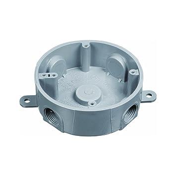 Carlon Pvc Round Outdoor Junction Box (e365dr) - Electrical Boxes ...