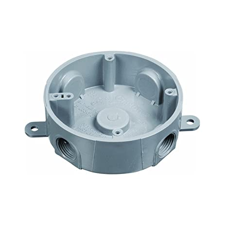 Carlon Pvc Round Outdoor Junction Box (e365dr) - Electrical Boxes ...