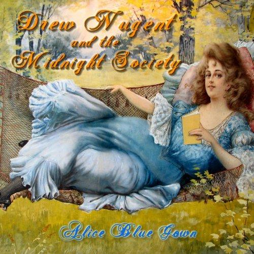 Image result for Drew Nugent Alice blue gown