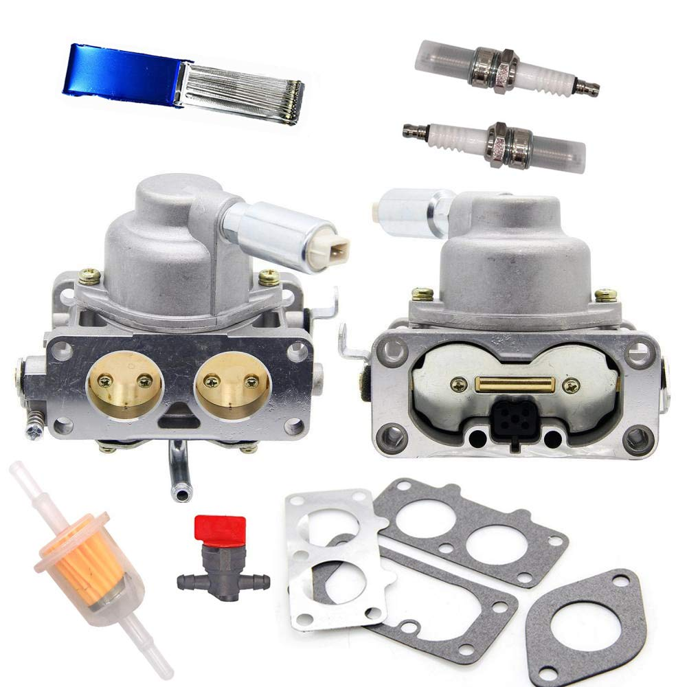 Soosee 791230 Carburetor Carb with Gasket Kit for Briggs & Stratton V-Twin 4 Cycle 20HP 21HP 23HP 24HP 25HP Vertical Engines Replace # 799230 699709 499804 MIA10632