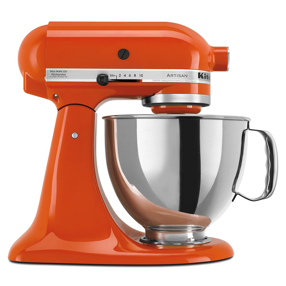 Amazon.com: KitchenAid KSM150PSPN Artisan Series 5-Qt. Stand Mixer ...