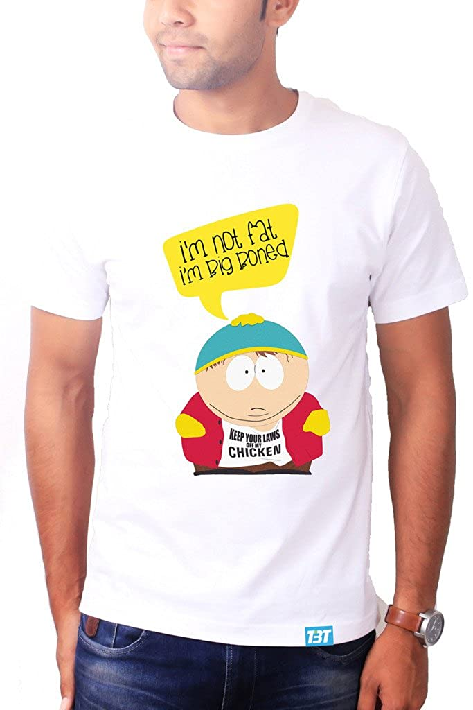 6dad4072ee16e The Banyan Tee Big Boned South Park Tshirt - South Park t Shirts by TBT   Amazon.in  Clothing   Accessories