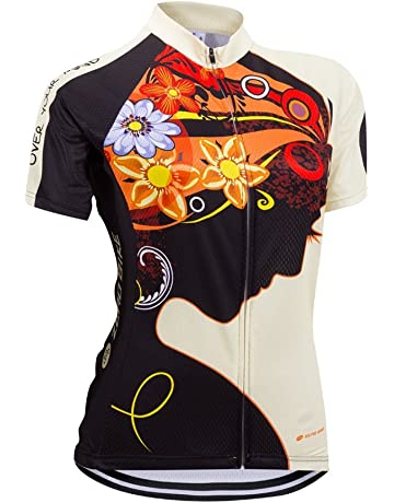 0dadc220edb8ad ZEROBIKE Women s Short Sleeve Cycling Jersey Jacket Cycling Shirt Quick Dry  Breathable Mountain Clothing Bike Top