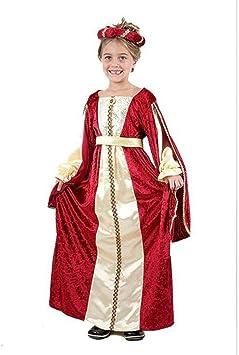 Estante de colour azul para niña de la Edad media para disfraz de ...