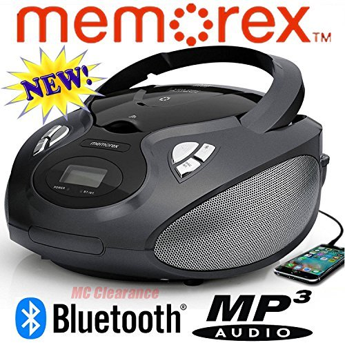 Memorex FBA_4330348759  Bluetooth CD/AM/FM/MP3 Flexbeats