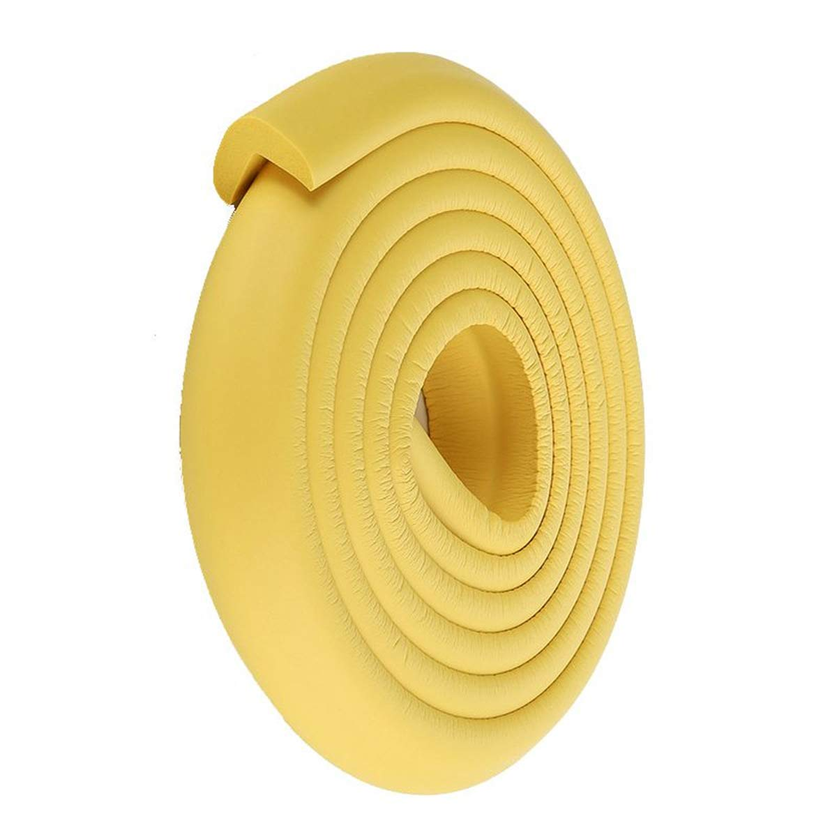ECYC Baby Edge Corner Protection Cushion Guard Strip para muebles Mesa de escritorio 2M, Beige TM E41002270