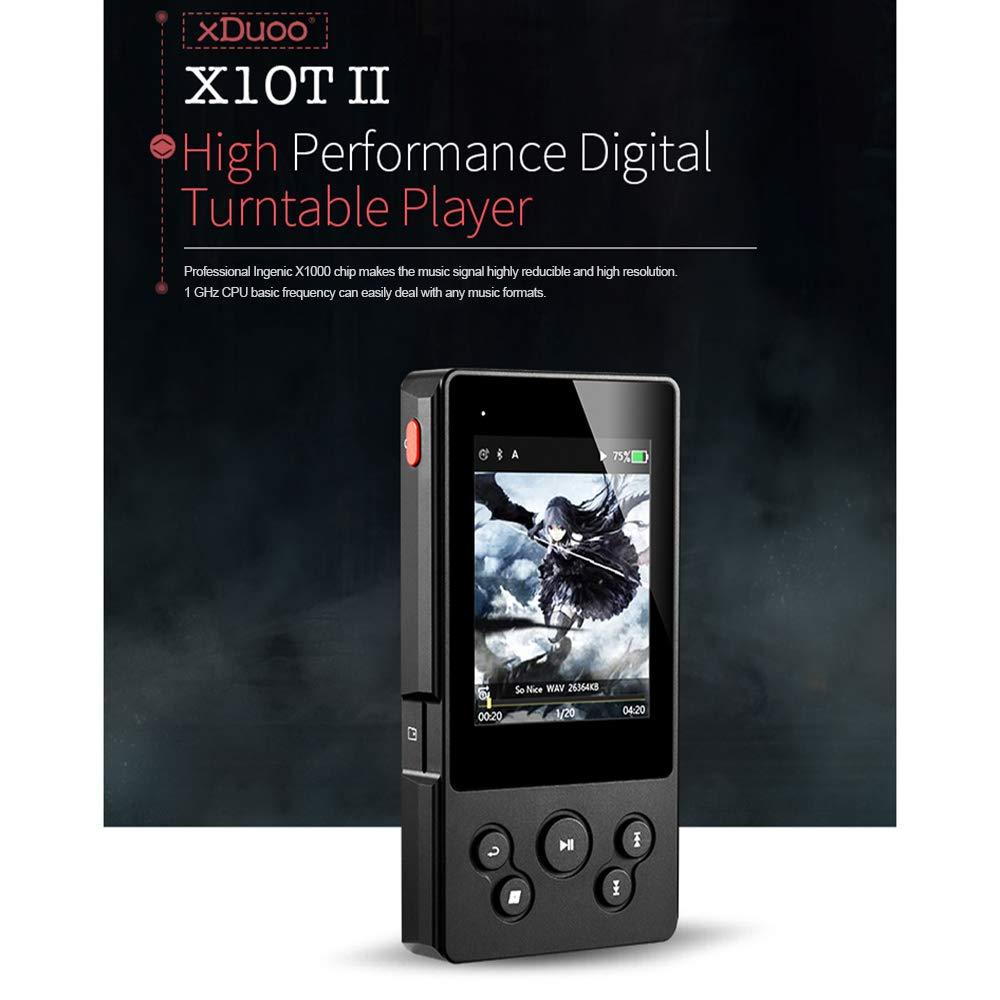 Lepeuxi - Reproductor de música HiFi XDuoo X10T II DSD Apt-X ...