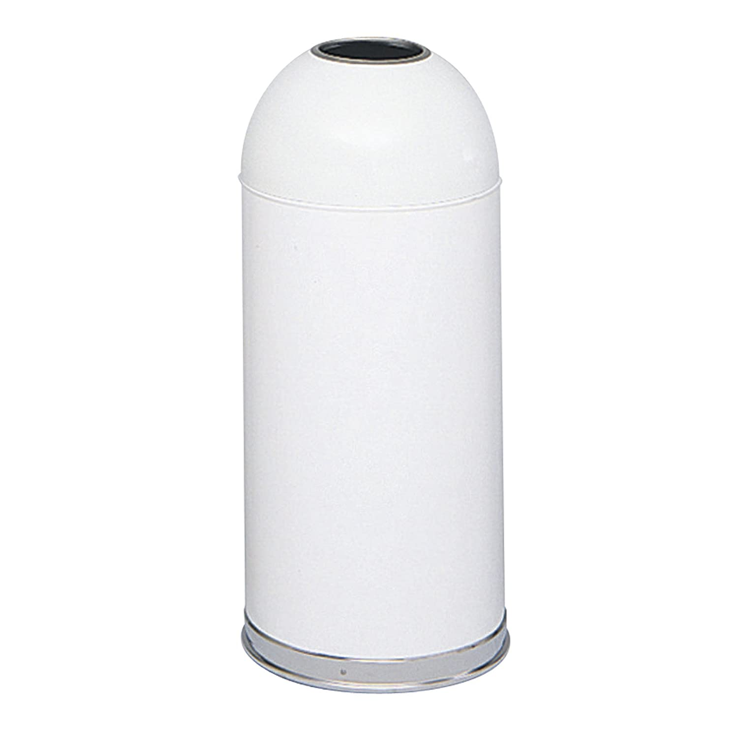 2ef774efb74 Amazon.com  Safco Products 9639WH Open Top Dome Trash Can