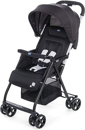 Comprar Chicco Ohlala 2 - Silla de paseo ultra ligera y compacta, fácil conducción, solo pesa 3,8 kg, color negro (Black Night)