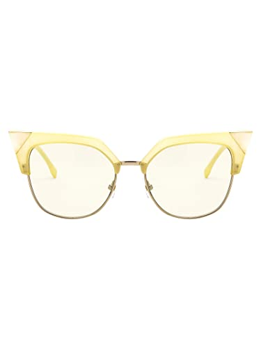 FENDI Luxury Fashion Mujer FF0149S5440GUK Amarillo Gafas De ...