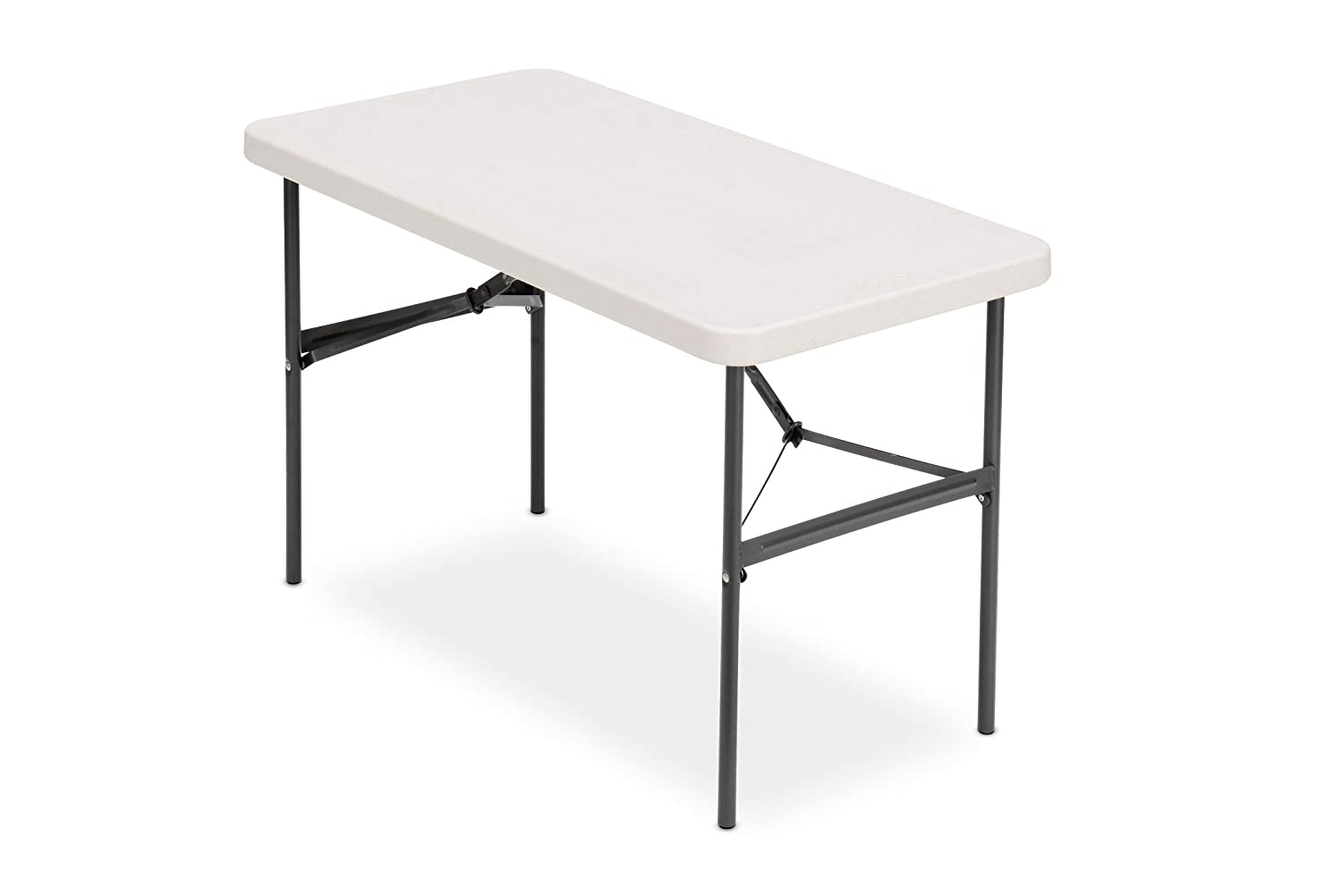 "Iceberg 24"" x 48"" Folding Table, Platinum, IndestrucTable TOO 500 Series (MADE IN USA)"