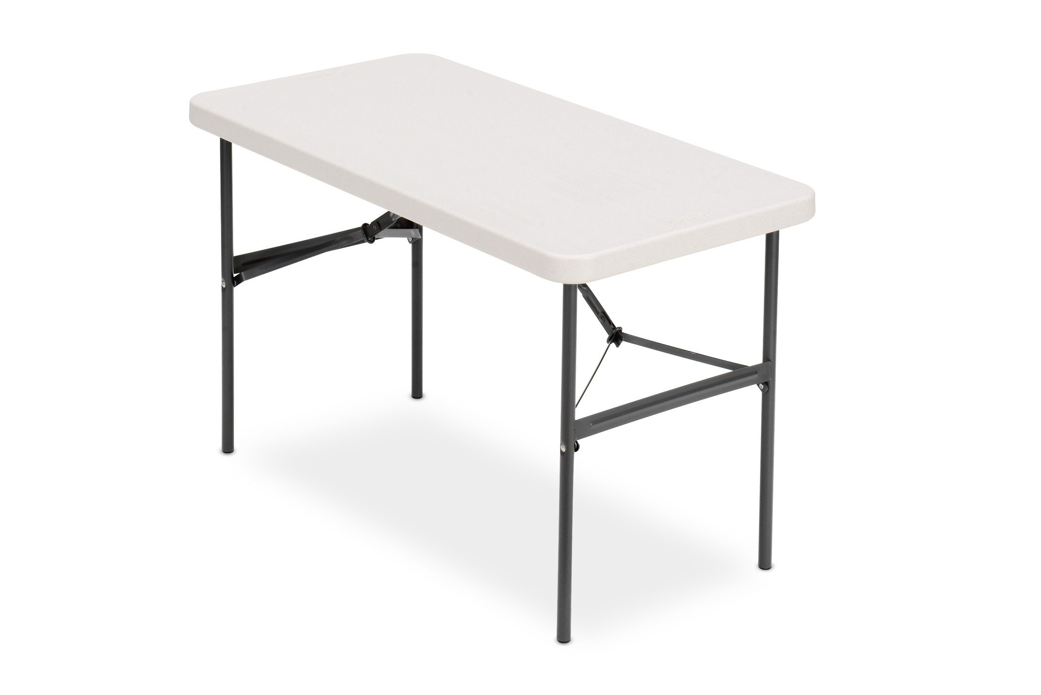 Iceberg 24'' x 48'' Folding Table, Platinum, IndestrucTable TOO 500 Series (MADE IN USA) by Iceberg