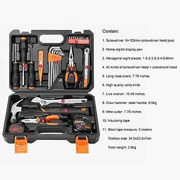 Handtl Práctico y portátil Durable Caja de herramientas ...