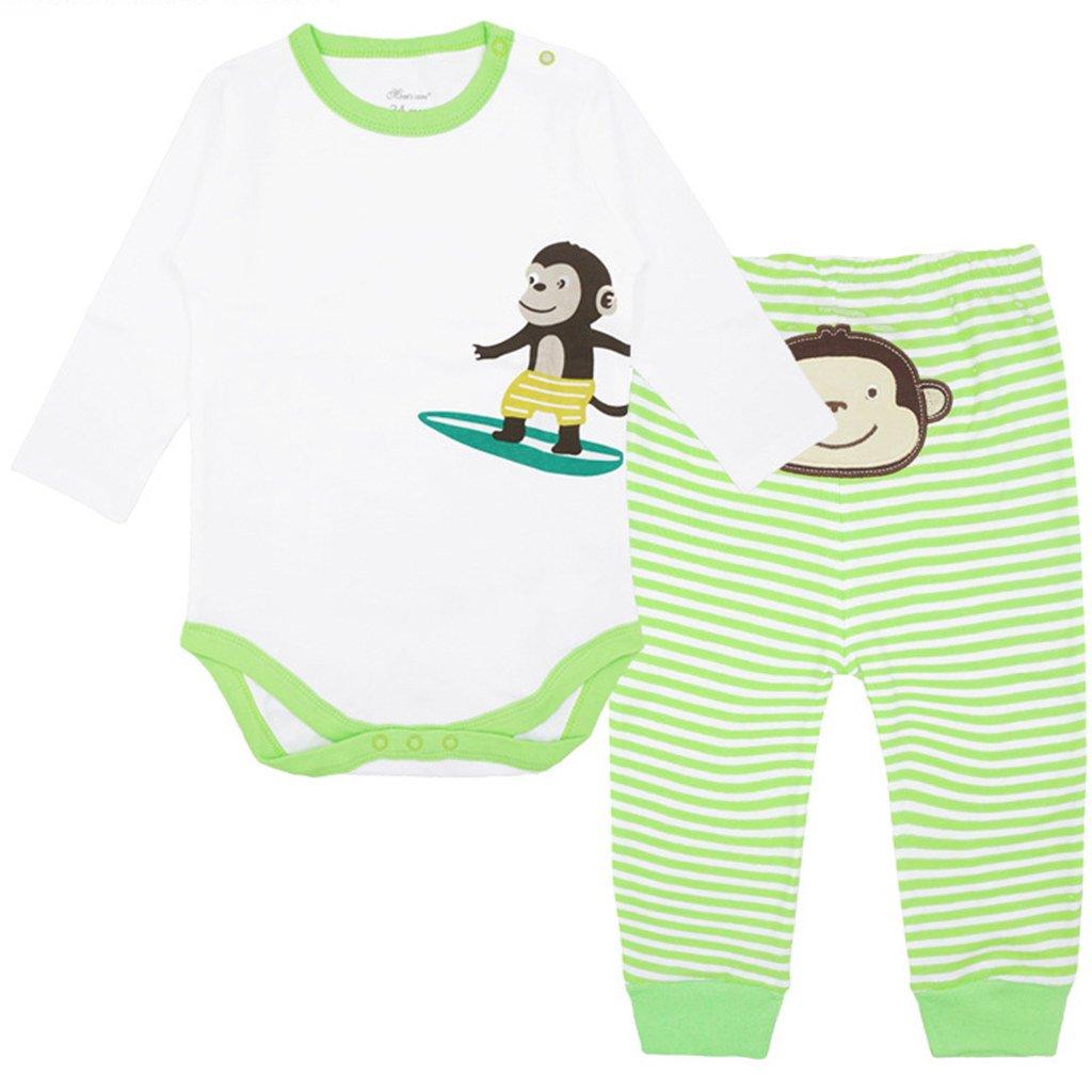 Body Bimba e Pantaloni Set Baby-Body Manica Lunga con Leggings Ragazzi 2 Pezzi Abbigliamento Shenzhen Windy Trading Co. Ltd