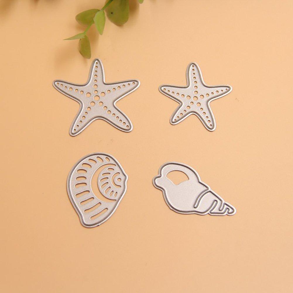 /argento Huhuswwbin fustella a forma di cuore fustella in metallo DIY scrapbook album Paper Crafts goffratura stencil/