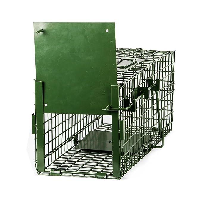 Yaheetech Trampa para Animales Vivos Jaula para Zorro Conejo Gatos 55x19x21,5cm: Amazon.es: Productos para mascotas