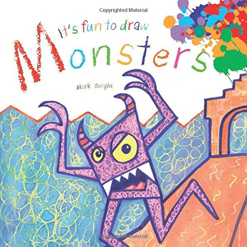 Download It's Fun to Draw Monsters (It's Fun to Draw (Paper)) pdf
