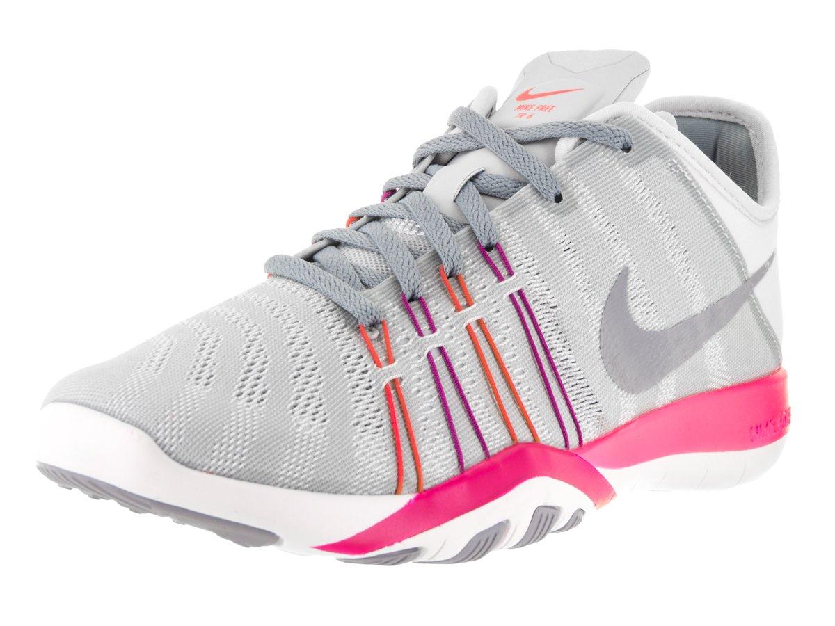 Womens Nike Free TR 6 Training Shoes B019HDJ8RQ 7.5 B(M) US|Pure Platinum/Stealth/Pink Blast