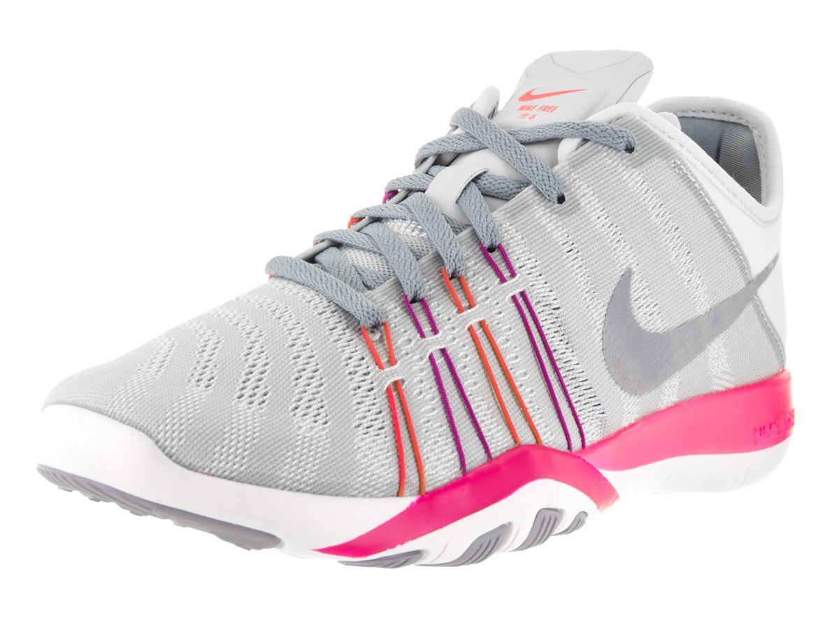 497e2ff36f2aa Womens Nike Free TR 6 Training Shoes Pure Platinum Stealth Pink ...