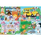 Fisher-price Little People Jigsaw Puzzle (20 Pieces) by Fisher-Price
