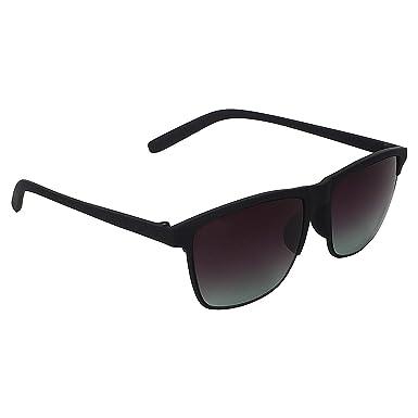 ffe330c7b5 Dervin UV Protection Black Wayfarer Mens   Womens Sunglasses  Amazon.in   Clothing   Accessories