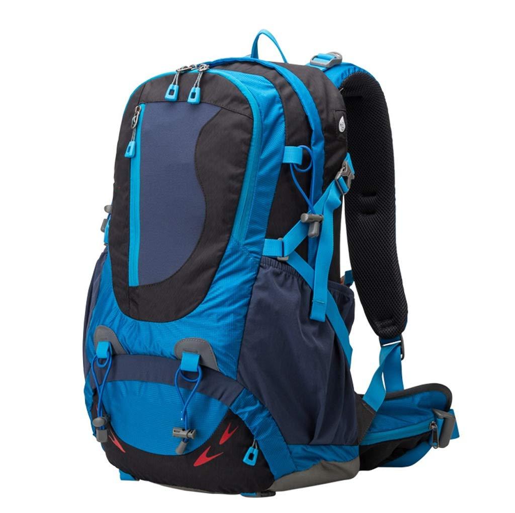 アウトドアショルダー40L登山バッグ軽量旅行クライミング防水バッグ大型アウトドアスポーツバックパック (色 : A) B07GQNRG46 A