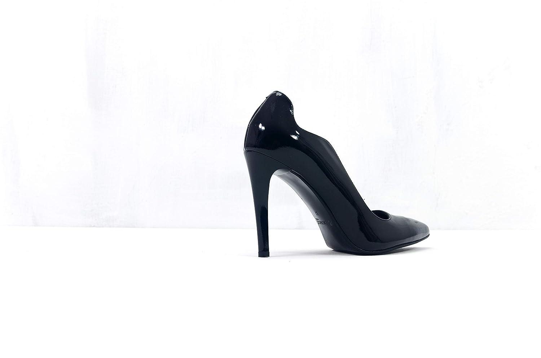 Arka1927 Stöckelschuhe XI XI XI - Luxus Handgefertigt Rindsleder Stöckelschuhe schwarz Damen Classic Designer Abendschuhe a11aaa
