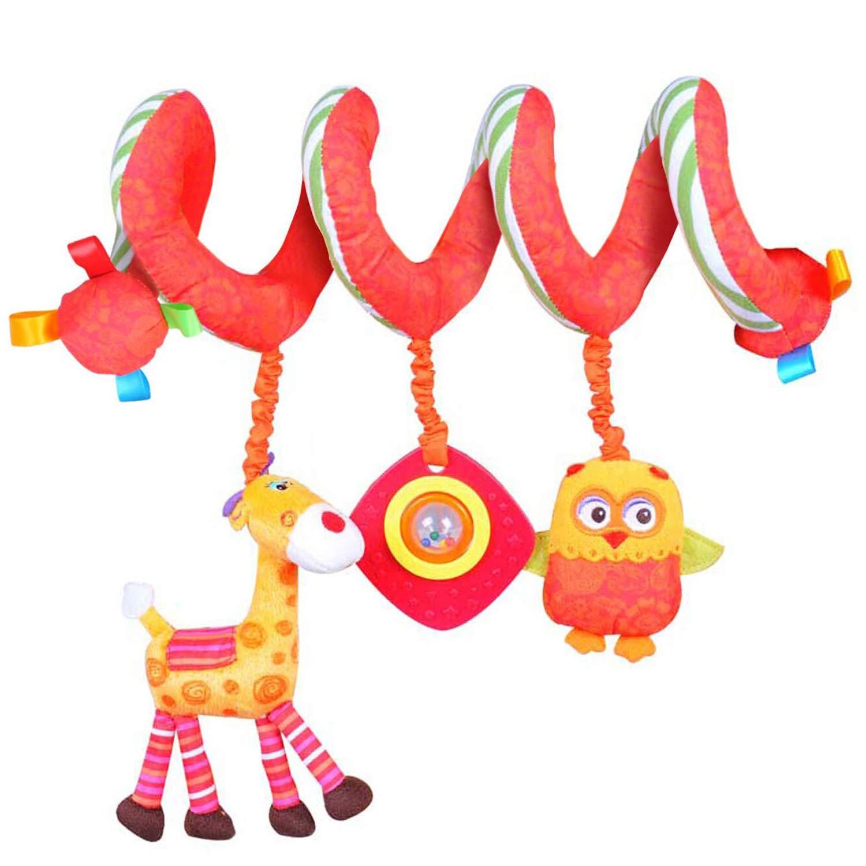 ★ Heiße Verkäufer ★ Labebe Activity Spiral, Süße Puppen Kinderwagen Spielzeug mit Blau Astronaut für Unisex Baby, Baby Spielzeug Kinderwagen/Spiral Kind/Spiral Blau/Spiral Spielzeug/Spiral Babyschale/Spiral Spiegelburg