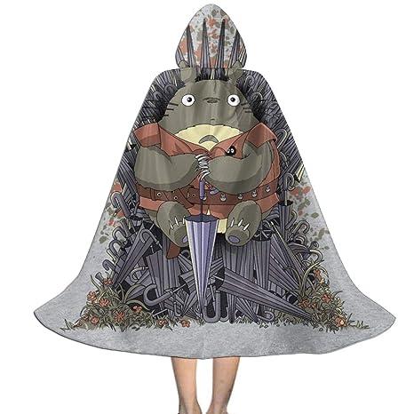 NUJSHF - Capa con Capucha para Disfraz de Totoro de Juego de ...