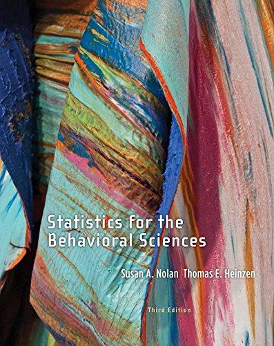 Download Statistics for Behavioral Sciences Pdf