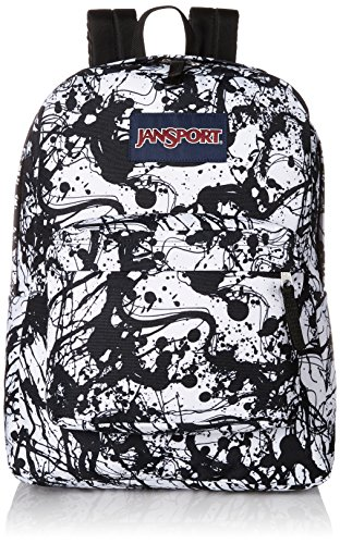 Black Paintballs - JanSport Superbreak Backpack- Sale Colors (Black Paintball)